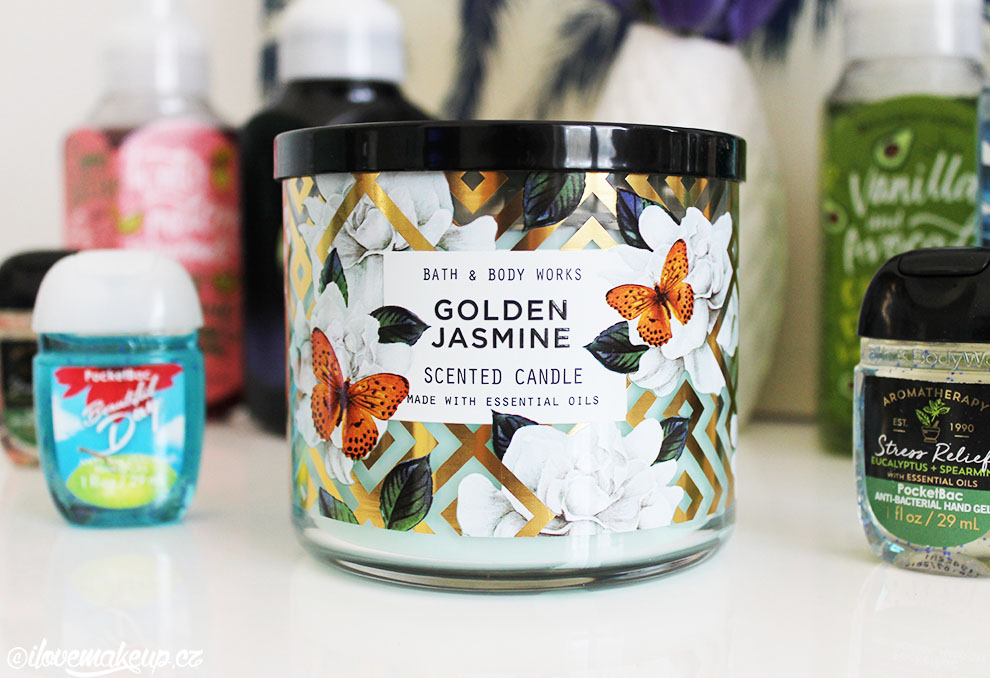 svíčka Golden Jasmine