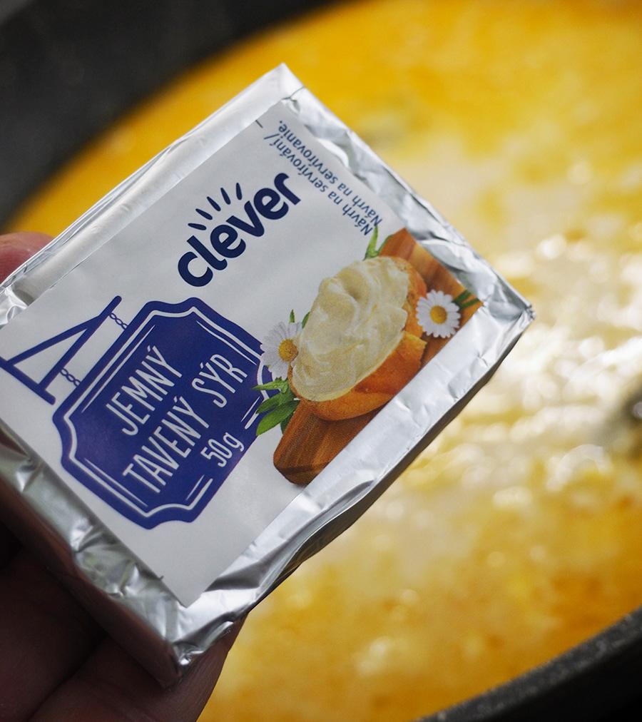 Billa Clever tavený sýr