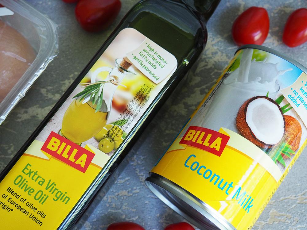Billa recepty kokosové mléko