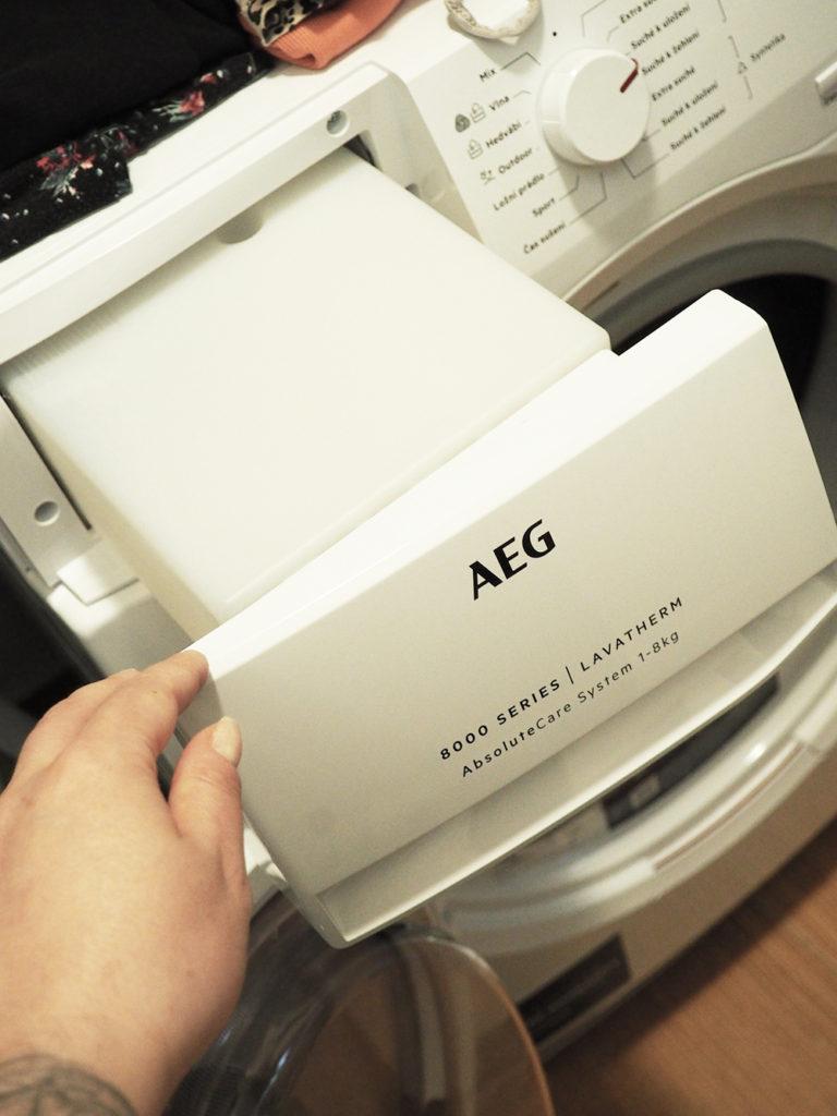 AEG sušička 8000 series